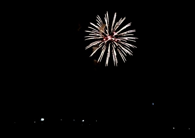 Fireworks Ocean Beach July 2015