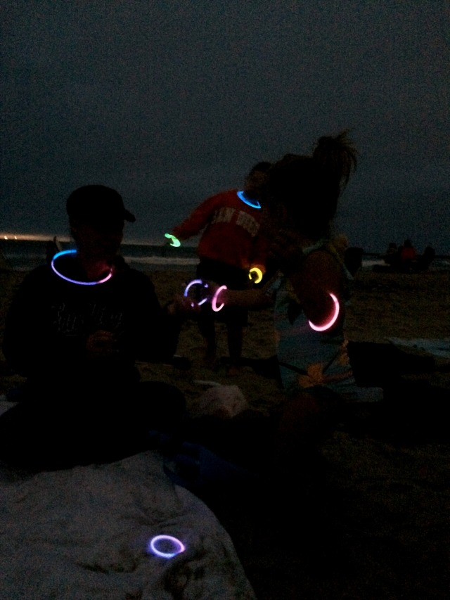 Glow in the Dark Ocean Beach July 2015