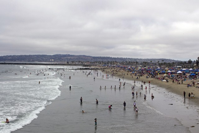 Ocean Beach July 4th 2015