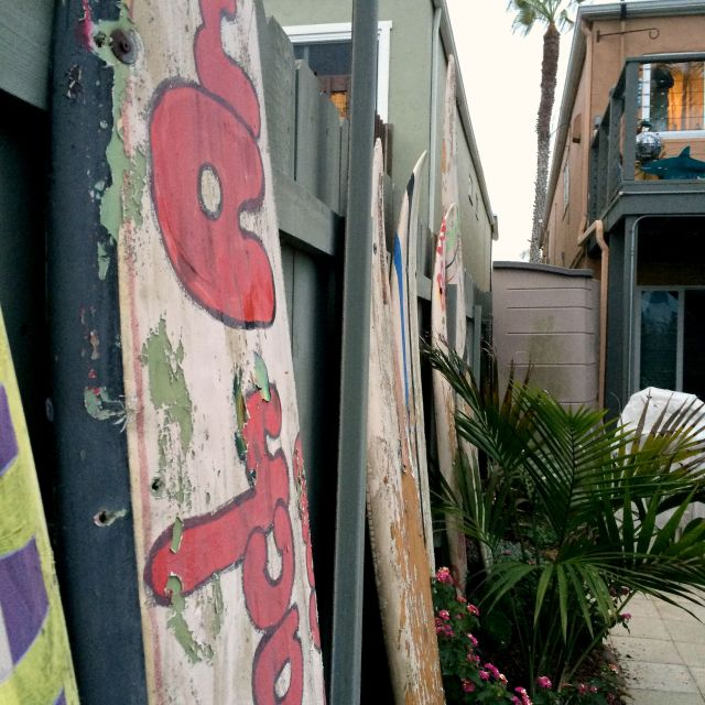Surfboards Ocean Beach 2015