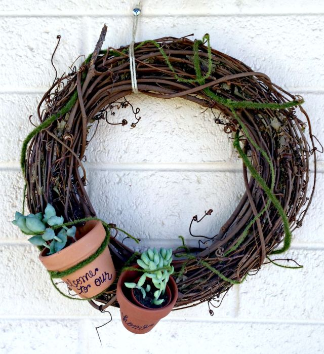 Wreath Housewarming Gift